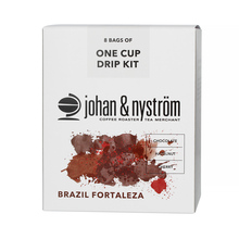 Johan & Nystrom Drip Kit Brazil Fortaleza (box of 8) (outlet)