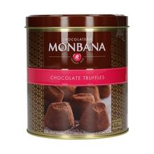 Monbana Truffes 250 gr X 5 Boites BTE Fer Ronde Pur Beurre Nature (outlet)