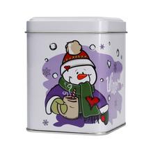 Mount Everest Tea - Świąteczna puszka na herbatę - Bałwan 100g