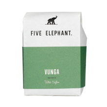 Five Elephant - Rwanda Vunga Washed FIL 250g, kawa ziarnista