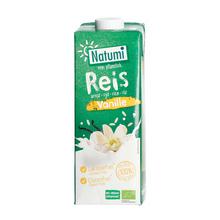 Natumi - Napój ryżowo-waniliowy bez dodatku cukru bezglutenowy 1L