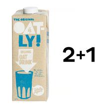 Zestaw 2 + 1: Oatly - Napój owsiany Organic 1L