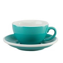 Loveramics Egg - Filiżanka i spodek Cappuccino 200 ml - Teal