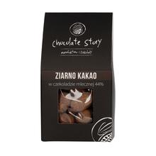 Manufaktura Czekolady - Draże - Ziarno Kakao w Czekoladzie Mlecznej