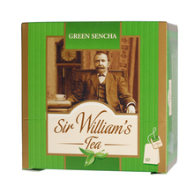 Sir William's - Green Sencha - Herbata 50 saszetek