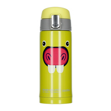 Asobu Peek-a-Boo Kids Bottle 200 ml Light Green (outlet)