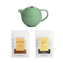 Zestaw: Dzbanek z zaparzaczem Loveramics Pro Tea + 2 x Herbata Solberg & Hansen