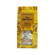 HERBATA MIESIĄCA: Vintage Teas Ginger Lemongrass - 20 torebek