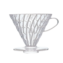 Hario plastikowy Drip V60-03 - Clear (outlet)