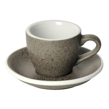 Loveramics Egg - Filiżanka i spodek Espresso 80 ml - Granite