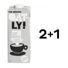 Zestaw 2 + 1: Oatly - Napój owsiany Barista 1L