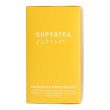 Teministeriet - Supertea Lemongrass Ginger Organic - Herbata 20 Torebek