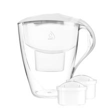 Dafi - Dzbanek filtrujący Omega 4,0L MI + 2 filtry Unimax - Biały