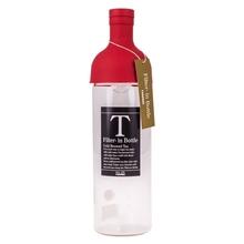 Hario butelka z filtrem Cold Brew Tea - czerwona