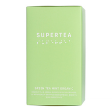 Teministeriet - Supertea Green Tea Mint Organic - Herbata 20 Torebek