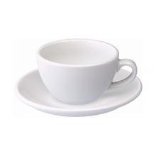 Loveramics Egg - Filiżanka i spodek Flat White 150 ml - White
