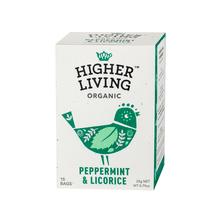 Higher Living Peppermint & Licorice - herbata - 15 saszetek