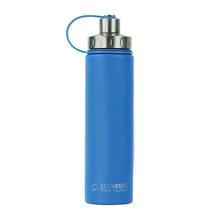 EcoVessel - Butelka termiczna Boulder - Niebieska 700 ml
