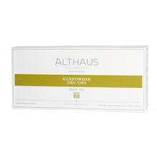 Althaus - Gunpowder Zhu Cha Grand Pack - Herbata 20 dużych saszetek