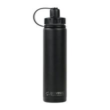 EcoVessel - Butelka termiczna Boulder - Czarna 700 ml