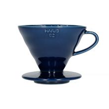 Hario ceramiczny Drip V60-02 Indygo |VDC-02-IBU-UEX| (outlet)