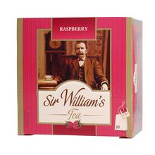Sir William's - Raspberry - Herbata 50 saszetek