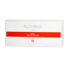Althaus - Red Fruit Flash Grand Pack - Herbata 20 dużych saszetek