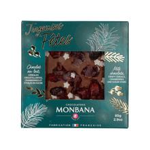Monbana - Świąteczna mleczna czekolada 85g