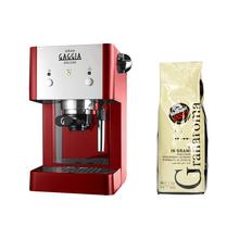 Zestaw Ekspres ciśnieniowy Gran Gaggia + Kawa Caffe Vergnano