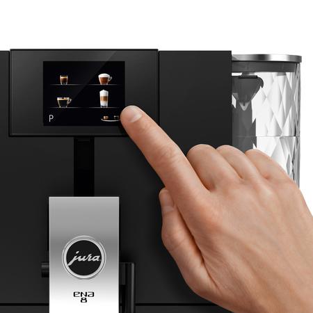 Jura ENA 8 Touch Full Metropolitan Black