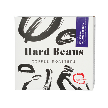 Hard Beans - Brazylia Samambaia Yellow Bourbon Espresso - Kawa mielona