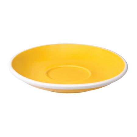 Loveramics Egg - Filiżanka i spodek Flat White 150 ml - Yellow