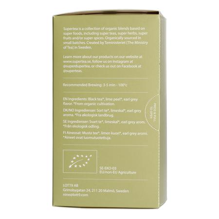 Teministeriet - Supertea Mrs Grey Organic - Herbata 20 Torebek