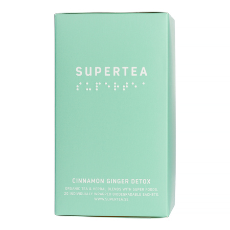 Teministeriet - Supertea Cinnamon Ginger Detox - Herbata 20 Torebek