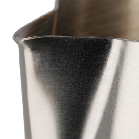 Barista Space - Dzbanek do mleka czarny 600 ml