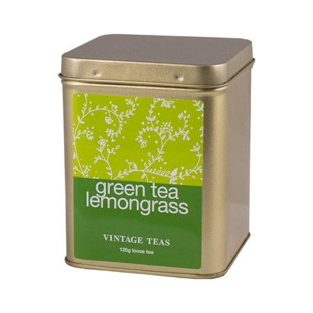 Vintage Teas Green Tea Lemongrass - puszka 125g