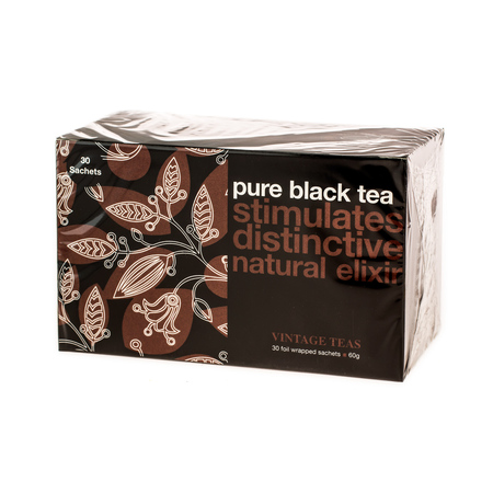 Vintage Teas Pure Black Tea - 30 torebek