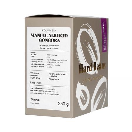 Hard Beans - Kolumbia Manuel Alberto Gongora