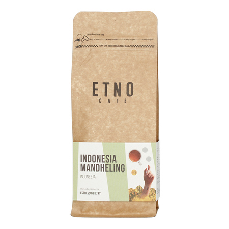 Etno Cafe Indonesia Mandheling 250g, kawa ziarnista (outlet)