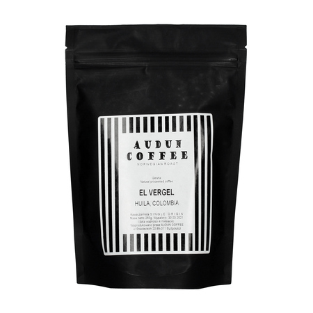 Audun Coffee - Colombia El Vergel Geisha