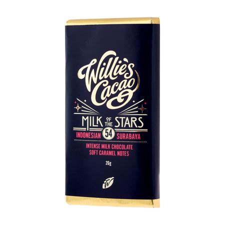 Willie's Cacao - Czekolada 54% - Milk of the Stars Indonezja 26g