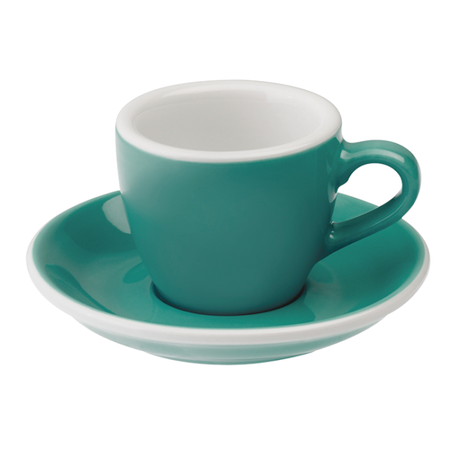 Loveramics Egg - Filiżanka i spodek Espresso 80 ml - Teal