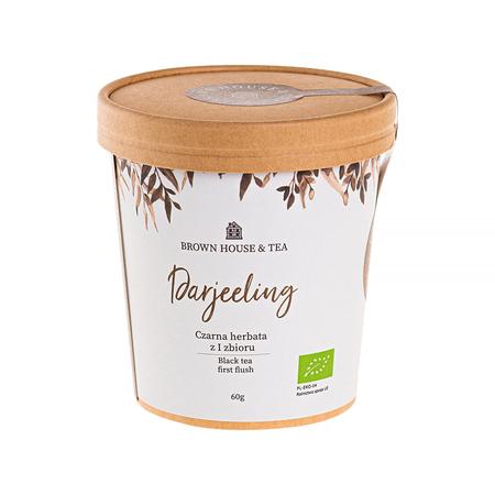 Brown House & Tea - Darjeeling - Herbata sypana 60g