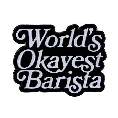 Department of Brewology - Przypinka World's Okayest Barista