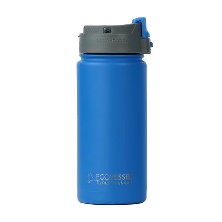 EcoVessel - Butelka termiczna Perk - Niebieska 473 ml