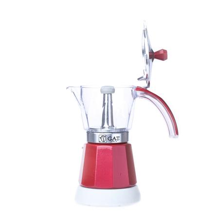 Kawiarka elektryczna G.A.T. Vintage 6tz - Czerwona