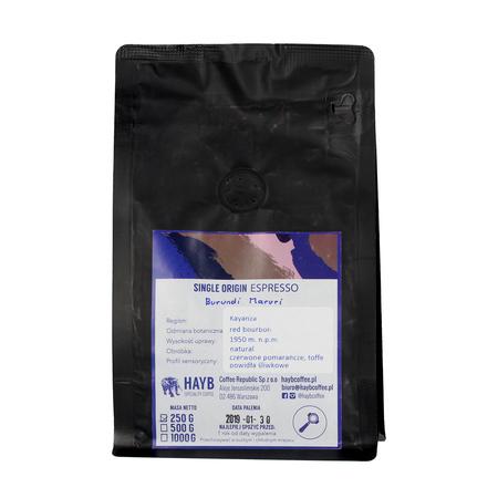 HAYB - Burundi Maruri Single Origin Espresso