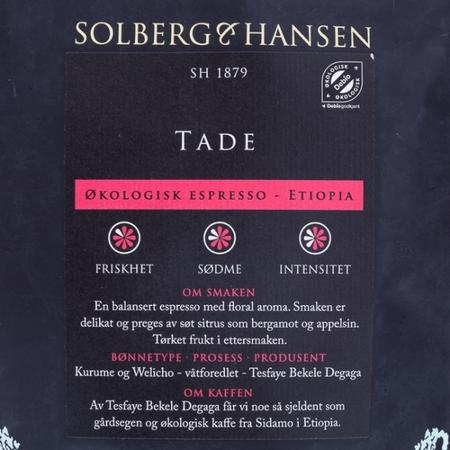 Solberg & Hansen - Franskbrent Espresso
