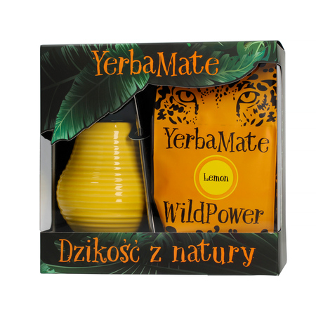 WildPower Zestaw Mate Lemon