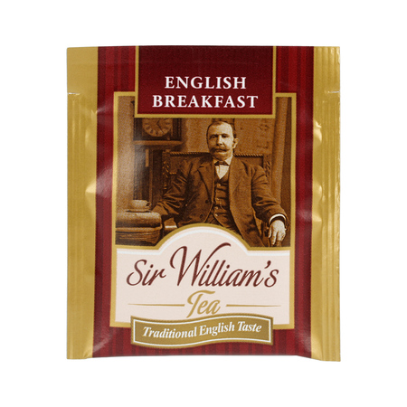 Sir William's - English Breakfast - Herbata 50 saszetek